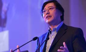 杨元庆发表主题演讲