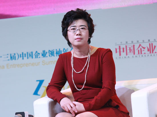 海尔集团高级副总裁兼CFO谭丽霞