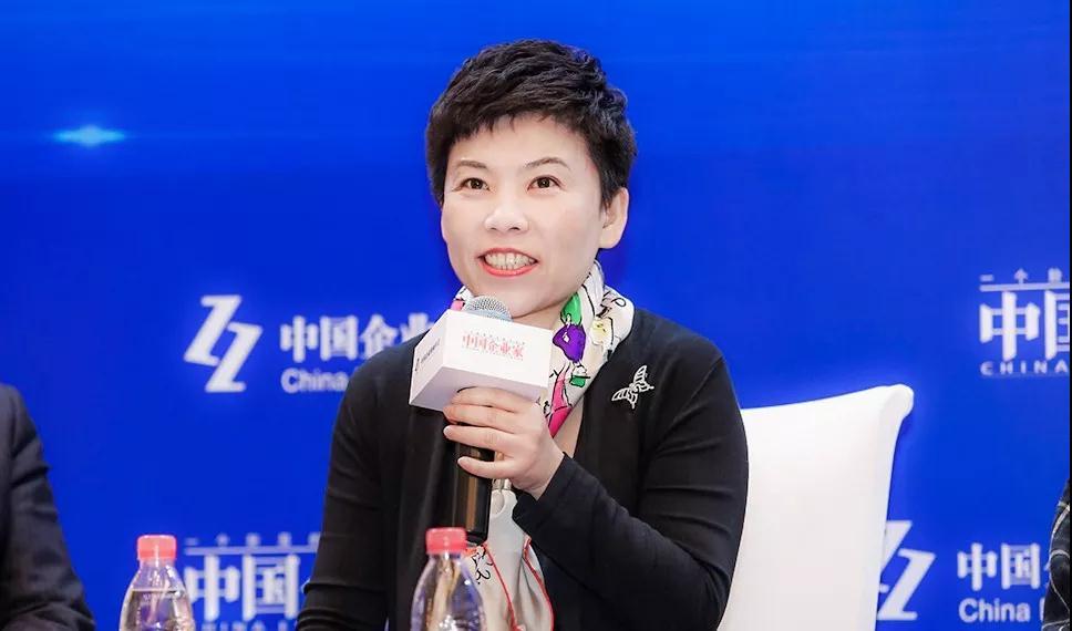 邓亚萍体育产业投资基金创始人邓亚萍04