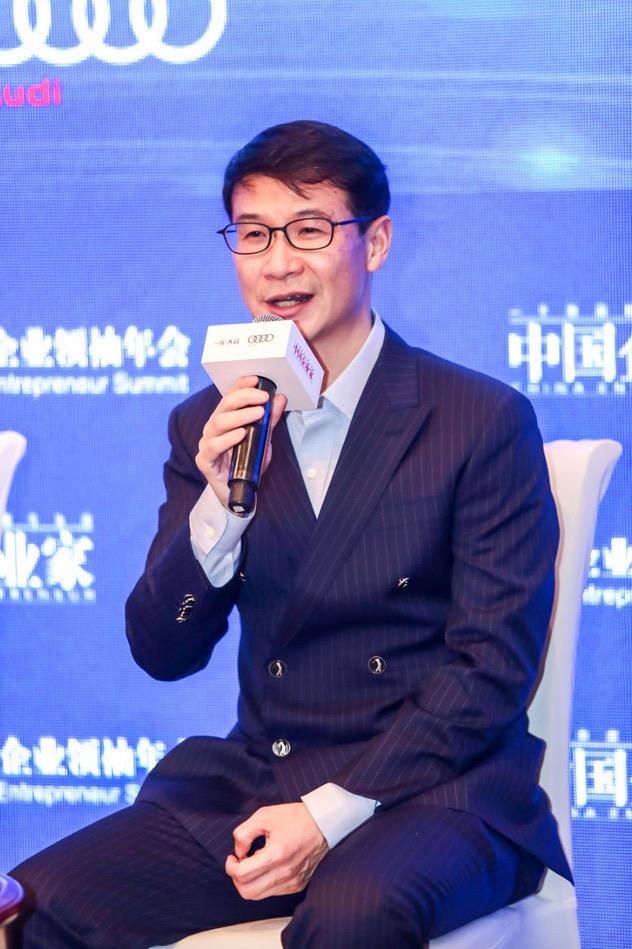安心保险董事长黄胜。