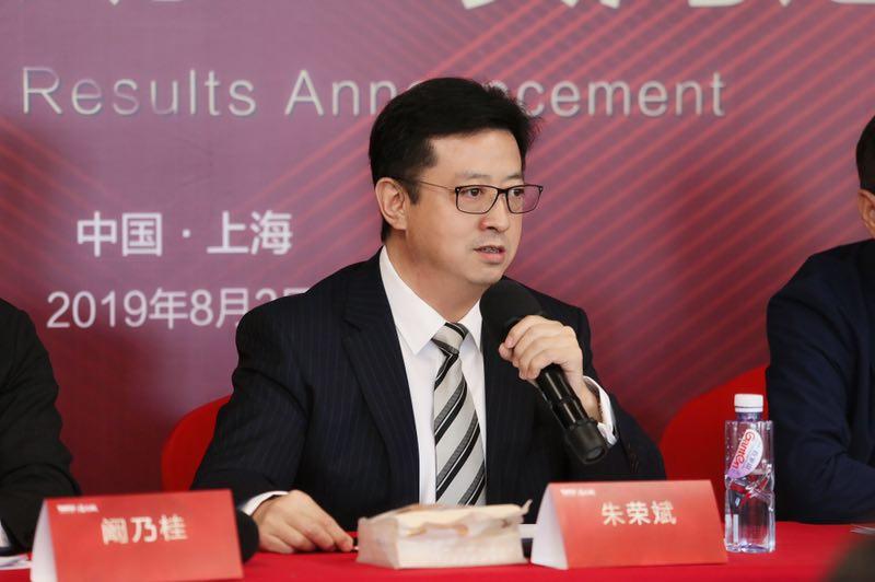 阳光城集团执行董事长兼总裁朱荣斌