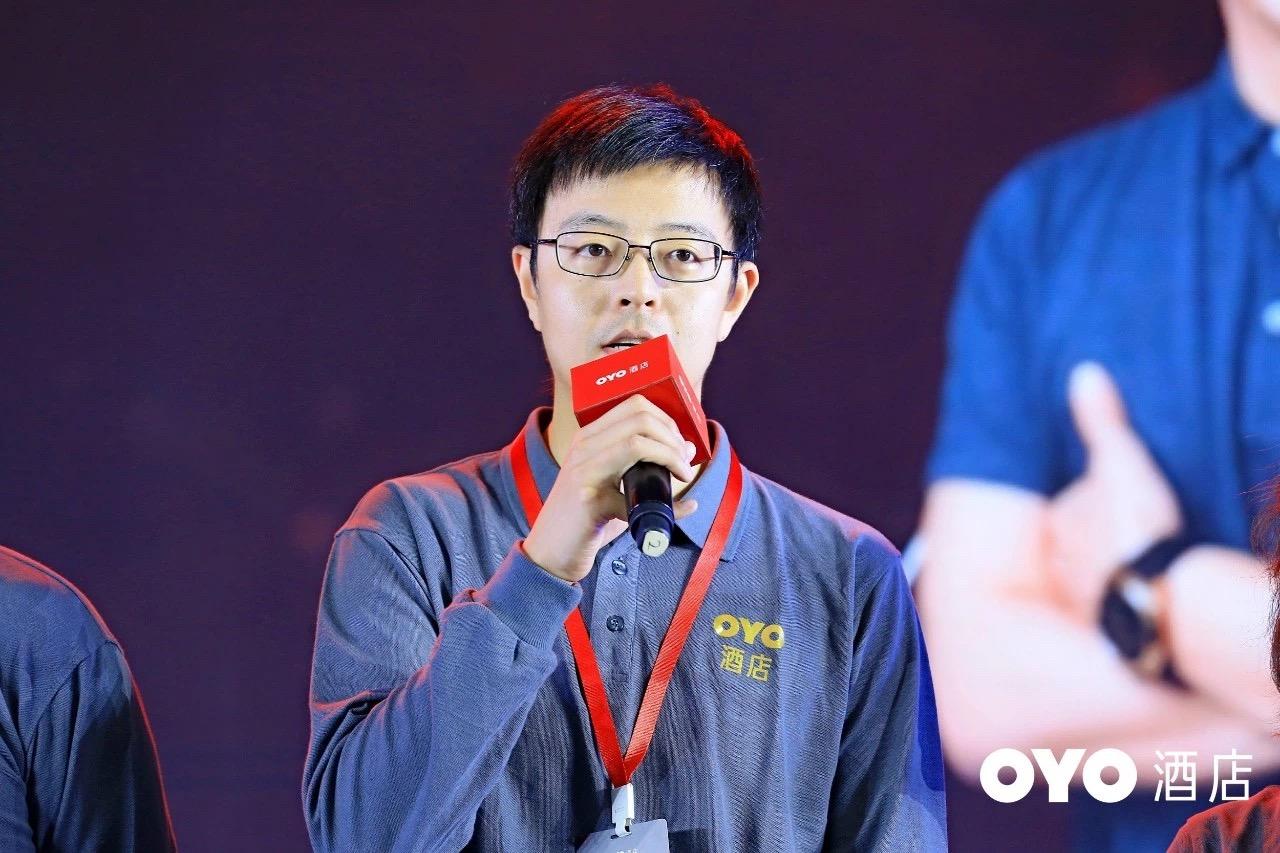 OYO中国首席发展官胡宇沸