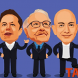 貝索斯、馬斯克、巴菲特避稅手段曝光:25位頂級富豪年工資僅1.58億美元